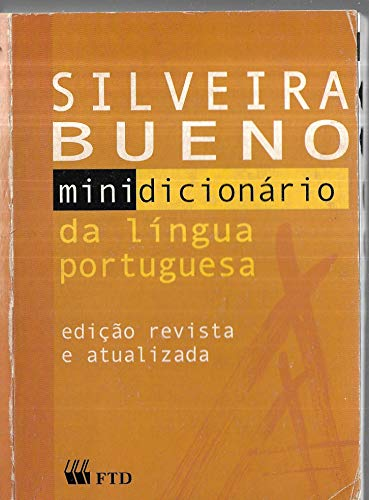 Minidicionário Língua Portuguesa. Brochura com Índice