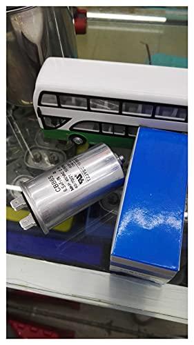 JSJJAUA Condensatori CBB65 Avvia condensatore 450 V con Viti in Basso 4UF 6.5 60 Lavatrice/Compressore/Condizionatore d'Aria Condensatore 4 Inserti (Capacitance : 25UF)