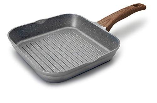 Lacor 27625–Grill alluminio, 44cm, colore: grigio