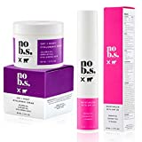 No B.S. Protect & Quench Duo - Face Moisturizer With SPF 20 and Hyaluronic Cream. Potent Formulas. Clean Skincare.