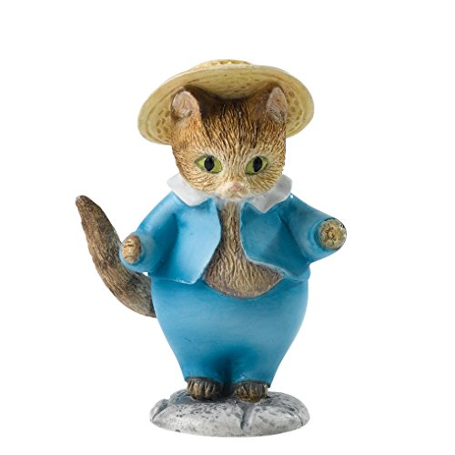 Beatrix Potter A28298 Tom Kitten Mini Figurine, 3 x 4.5 x 6 cm