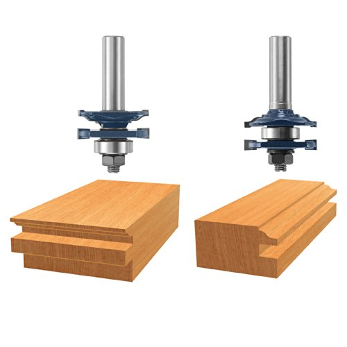 Bosch 85625MC 1-5/8 In. Ogee Stile & Rail Router Bits