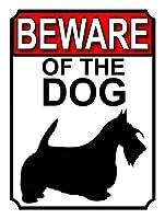 犬の用心 メタルポスタレトロなポスタ安全標識壁パネル ティンサイン注意看板壁掛けプレート警告サイン絵図ショップ食料品ショッピングモールパーキングバークラブカフェレストラントイレ公共の場ギフト