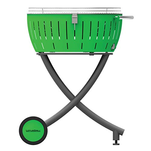 LotusGrill XXL barbecue a carbonella, Verde Lime, 78 x 78 x 48 cm