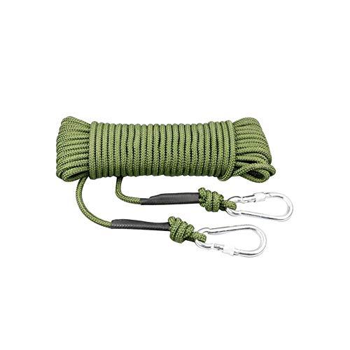 Abschleppseile XIAOYAN- 8mm geflochtenen Seil Sicherheit Kletterseil Rettung Überleben Ausrüstung wasserdichtes Tragen Resistant Multi (Size : 100m)