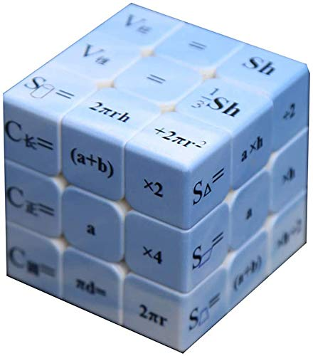JIAFENG Speed Math Cube 3D Cube Puzzle Toys without Sticker Smooth Shift More Durable Magic Cube Educational Toys