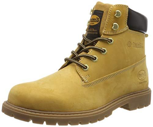 Dockers by Gerli 45pa040, Botas Militar Hombre, Amarillo (Golden Tan 910), 45 EU