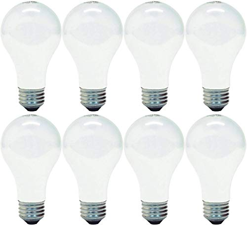 GE Lighting 63005 Soft White 72-Watt (100-Watt Replacement) 1270-Lumen A19 Light Bulb with Medium Base, 8-Pack