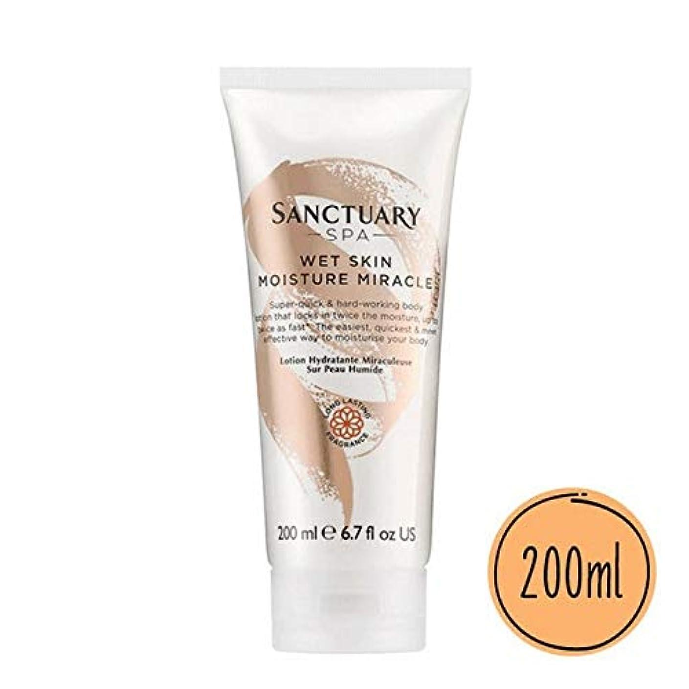 伝記時代遅れ恐怖[Sanctuary Spa ] 聖域スパ濡れた肌の水分奇跡の200ミリリットル - Sanctuary Spa Wet Skin Moisture Miracle 200ml [並行輸入品]