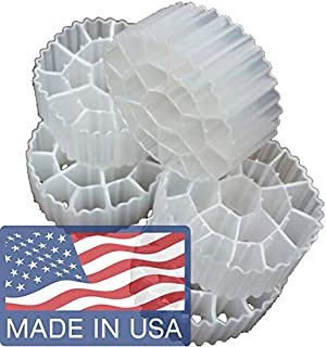 Cz Garden Supply K3 Filter Media Premium Grade Moving Bed Biofilm Reactor (MBBR) for Aquaponics • Aquaculture • Hydroponics • Ponds • Aquariums by