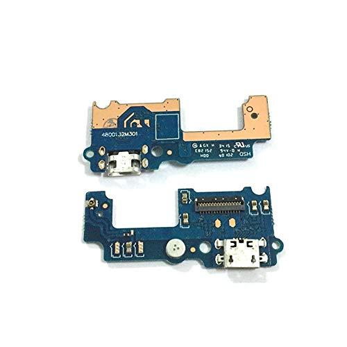 ZHOUZHONGLAN Principal puerto USB tarjeta de carga para Huawei Y6 Pro USB carga puerto Flex cable reparación piezas
