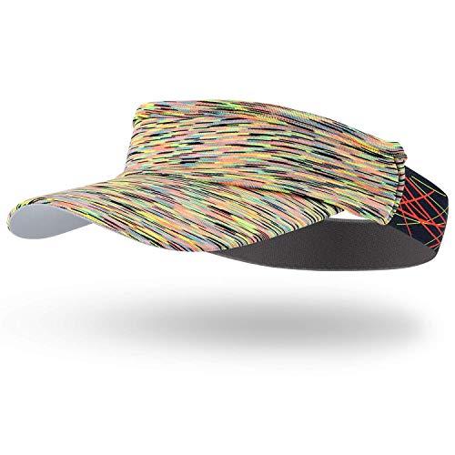 Arcweg Visera Mujer Hombre Sombreros para el Sol Talla Única Protección UV para Running Golf Tenís Deportes al Aire Libre Amarillo