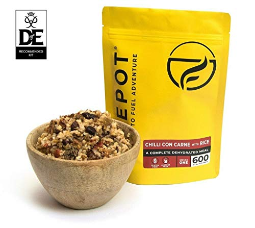 FIREPOT Chilli con Carne and Rice (Regular) - Healthy Dehydrated Expedition Food