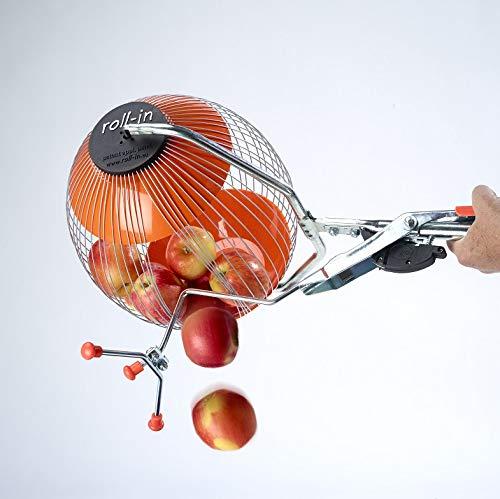 Kollectaball Apfelpickel und Pickel-Oberwerkzeug für Windfall-Äpfel mit einzigartigen Dosiereinheit | Größter Apfelsammler verfügbar | Sammle bis zu 30 Äpfel