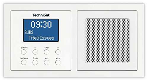 TechniSat DIGITRADIO UP 1 - DAB+ Unterputzradio zur Anbringung in...