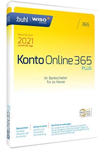 WISO Konto Online Plus 365 (aktuelle Version 2021)|1 Gerät|1 Jahr|PC (WISO Software)