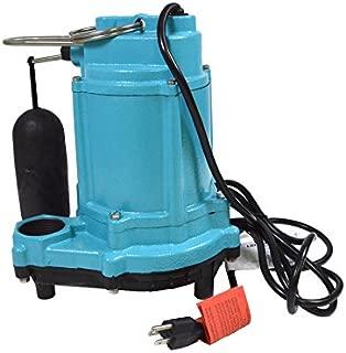 Little Giant 506807 LITGIA Integral Snap-Action Float Plastic Base Sump Pump, 1, Color