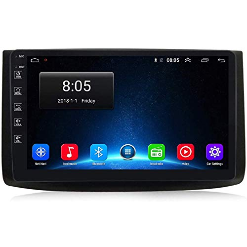 LNHJZ Android 9.0 Autoradio-Radio Double Din Kompatibel mit Chevrolet Aveo T250 2006-2012 GPS-Navigation 9-Zoll-Touchscreen MP5-Multimedia-Player-Videoempfänger mit 4G DSP Carplay