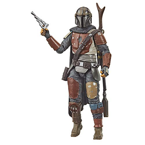 Star Wars The Vintage Collection The Mandalorian Toy, 3.75' Scale Action Figure, Toys for Kids Ages 4 & Up