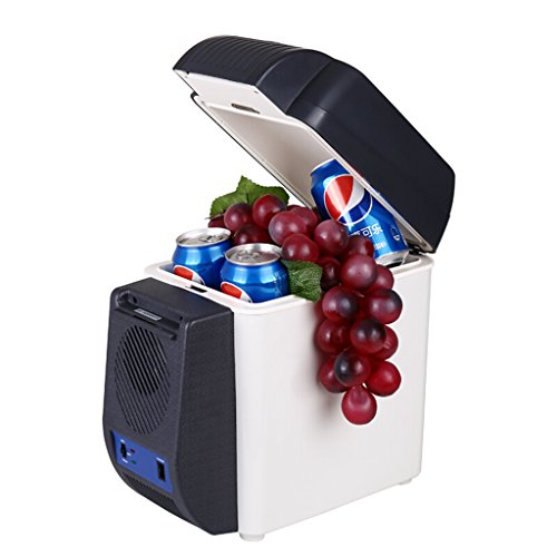 Purchase JINXUXIONGDI 7L Car Refrigerator, Car Cooling and Heating Box Small Refrigerator Portable Outdoor Refrigerator for Food and Travel