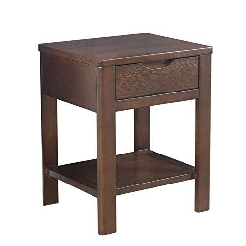 FTFTO Produits ménagers Table de Chevet de Chambre Simple Meuble de Chevet en Bois Table de Nuit en Bois Moderne Salon Meuble de Rangement pour Chambre à Coucher Meubles de Maison (Couleur: B)