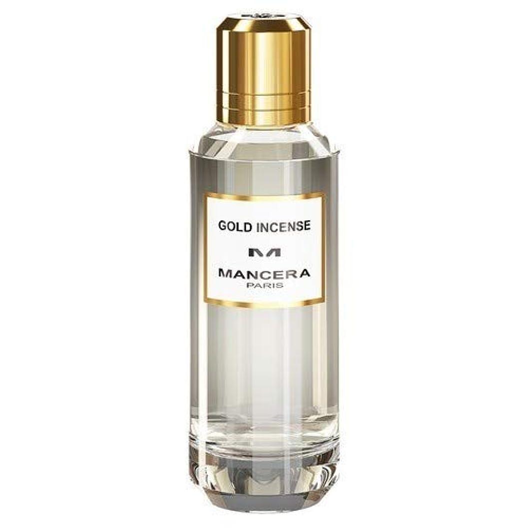 注文罹患率コークスMancera Gold Incense Eau de Parfum 2.1 oz./60 ml New in Box