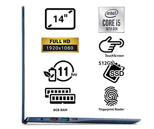 Comparison of Acer Swift 5 SF514-54T (NX.HHUEK.003) vs ASUS ZenBook (UX425JA-BM191T)