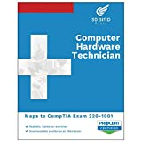 Computer Hardware Technician - Maps to CompTIA A+ exam 220-1001 - By 30 Bird Media - Black and White Print - Student Edition