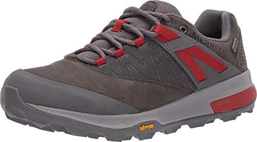 Merrell mens Zion Wp Hiking Shoe, Merrell Grey, 8 US