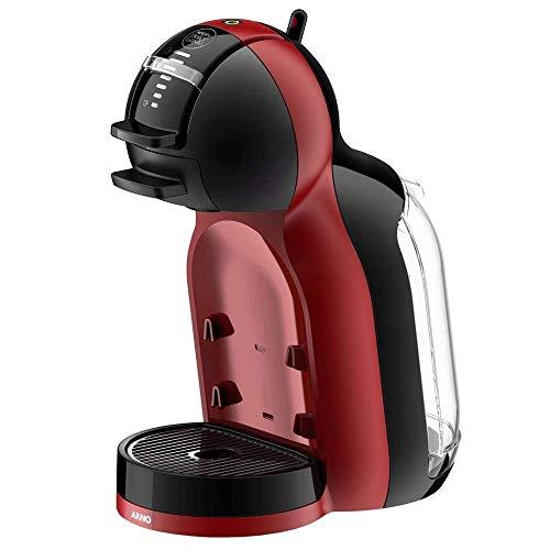 Cafeteira Dolcegusto Dmm8 Minime Automática, Arno 162634-86-2 Arno Nescafé Dolce Gusto Mini Me Automática Preta/vermelha Dmm8 Preta/vermelha 220v