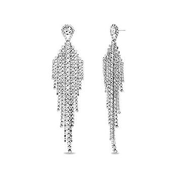 Best big silver earrings Reviews