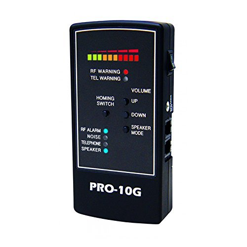 Spy-Hawk Security Products Pro-10G is the # 1 GPS Tracker Finder and Law-Grade Counter Surveillance Bug Sweep - Newest Professional Handheld Detection of All Active GPS Trackers, Mobile Phones