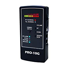 NEWEST UPGRADED MODEL RELEASE - SPY HAWK PRO-10G COUNTER SURVEILLANCE BUG SWEEP is the # 1 SELLING PORTABLE SWEEP UNIT for CELL PHONE & GPS TRACKER DETECTION - Offers Outstanding Electronic RF Signal Detection - Sensitive Portable GPS Spy Bug Sweeper...