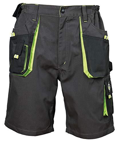 Emerton - Herren Shorts/kurzen Arbeitshosen - für den Sommer - Grau/Grün EU60