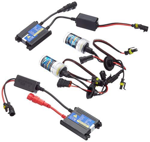 Akhan Digital 9-32V 35W CANBUS Xenon Kit Nachrüstsatz H11 6000 Kelvin inkl. HID Vorschaltgerät, Xenon Brenner Lampe und Montage Material ohne Fehlermeldung und ohne Flackern