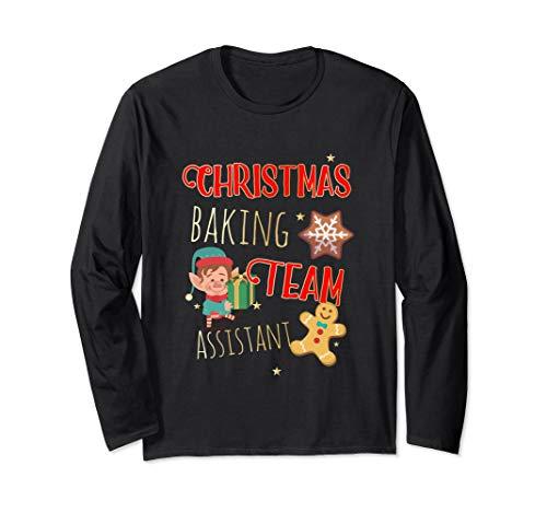 Weihnachtsbacken Team für Weihnachtsbäcker und Bäckerin Langarmshirt