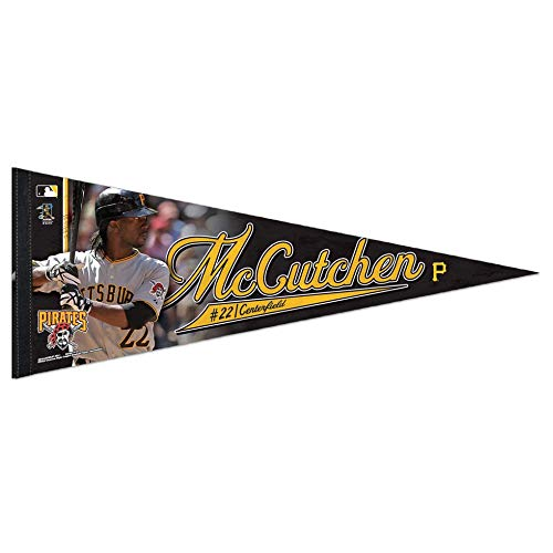Bek Brands Major League Baseball Teams, Wimpel, 30,5 x 76,2 cm, mit Spielern Pittsburgh Pirates, Andrew McCutchen