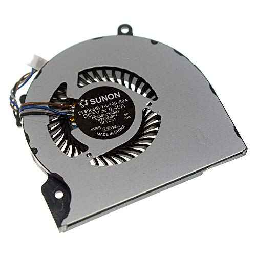 Rangale Replacement CPU Cooling Fan for H P EliteBok 9470 9470M 9480 9480M Series Laptop EF50050V1-C100-S9A 702859-001