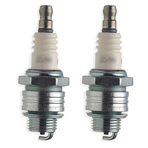 Spares2go Universal-Zündkerze Typ PR17YC für kleine Handgeräte Benzin-Elektrowerkzeuge (2 Stück)