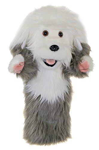 The Puppet Company Manches Longues Vieux Anglais Sheepdog Marionnette à Main PC006045
