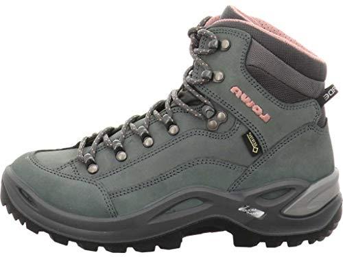 Lowa Women's Renegade GTX Mid Ws Hiking Boots, Brown (Stein), 4.5 UK