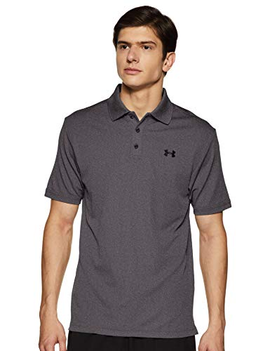Under Armour Under Armour Herren Performance Poloshirt , Grau (Carbon Heather) , Medium