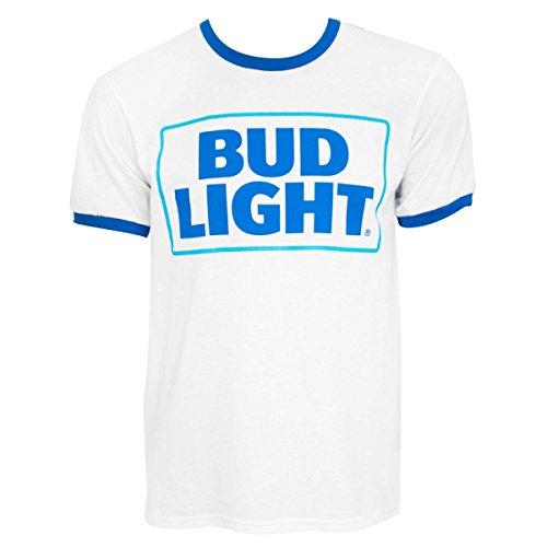 Bud Light Cerveza del campanero del logotipo Camiseta X-Large
