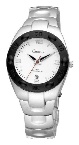 ORPHELIA 123-7600-18 - Reloj de Mujer de Cuarzo, Correa de Aluminio Color