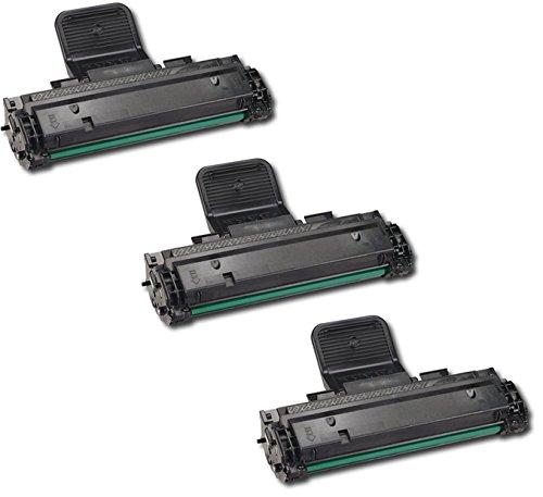 3 Toner kompatibel für Samsung SCX-4725F SCX-4725FN - Schwarz, hohe Kapazität