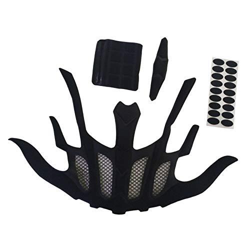 Perfeclan Casco Acolchado Kits de Seguridad de Bicicleta accidente Sombrero de Almohadillas de Espuma de Bicicleta de la Motocicleta del Casco de la Esponja - Forma de murciélago 🔥