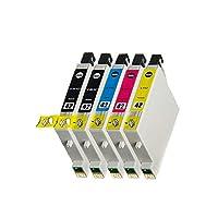 EPSON用 エプソン用 IC4CL42 IC42 ICBK42 ICC42 ICM42 ICY42 (5パック 2ブラック シアン マゼンタ イエロー) 互換インクカートリッジ 対応機種:PX-A650/V630