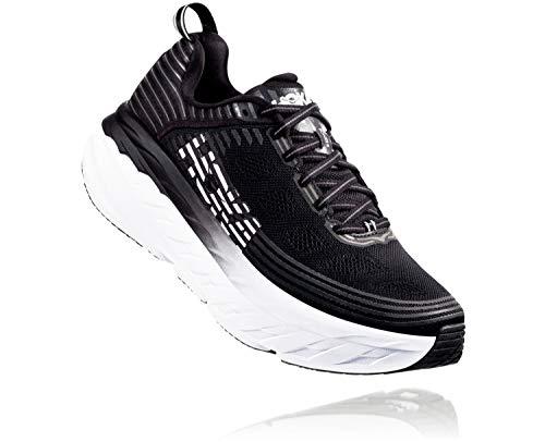 HOKA ONE ONE Mens Bondi 6 Black/Black Running Shoe - 10