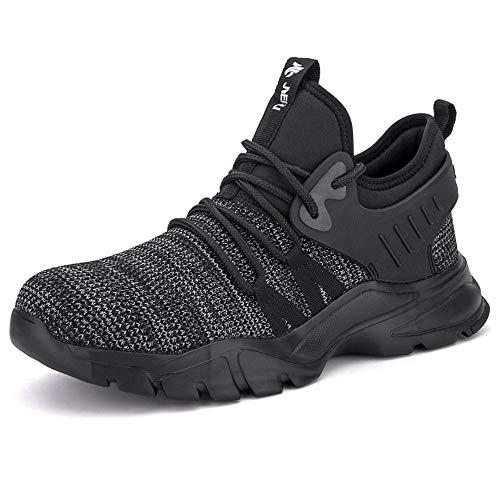 Scarpa Antifortunistica Uomo Donna Leggera Traspiranti Antiscivolo Sportive Gomma Sneakers Scarpe da Lavoro Estive