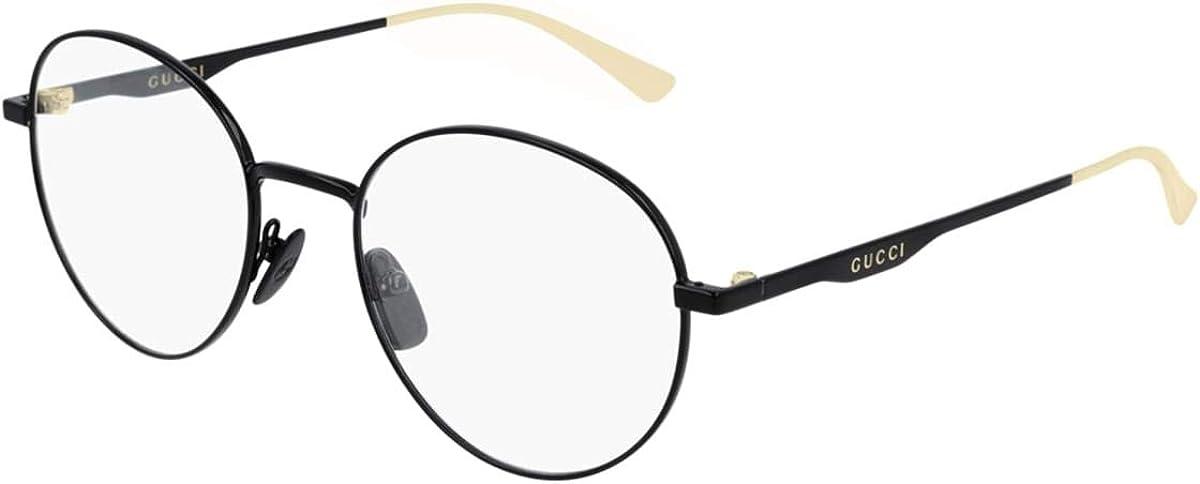 Eyeglasses Fashion El Paso Mall Gucci GG 0337 009 O- BLACK